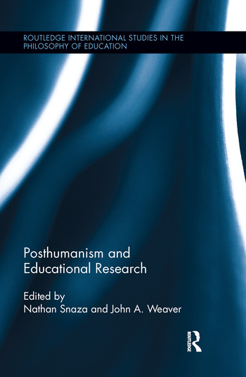 Posthumanism and Educational Research book cover