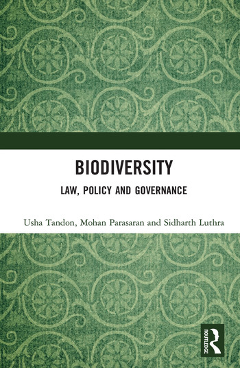Biodiversity Law, Policy and Governance book cover