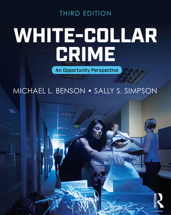 White-Collar Crime An Opportunity Perspective book cover