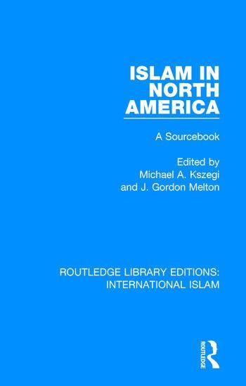 Islam in North America A Sourcebook book cover