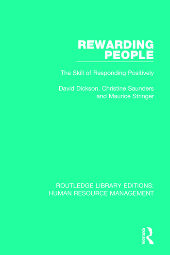 Rewarding People The Skill of Responding Positively book cover