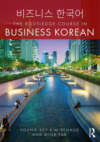 The Routledge Course in Business Korean book cover