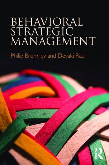 Behavioral Strategic Management book cover