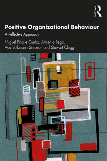 Positive Organizational Behaviour A Reflective Approach book cover