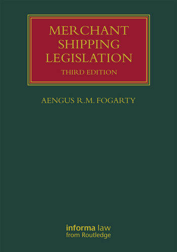 Merchant Shipping Legislation book cover