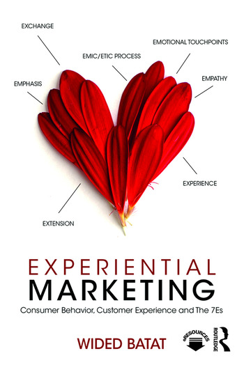 Experiential Marketing Consumer Behavior, Customer Experience and The 7Es book cover