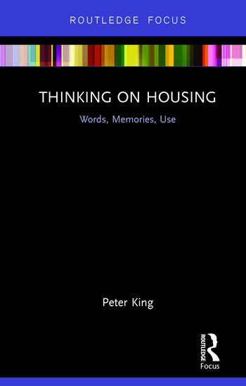 Thinking on Housing Words, Memories, Use book cover