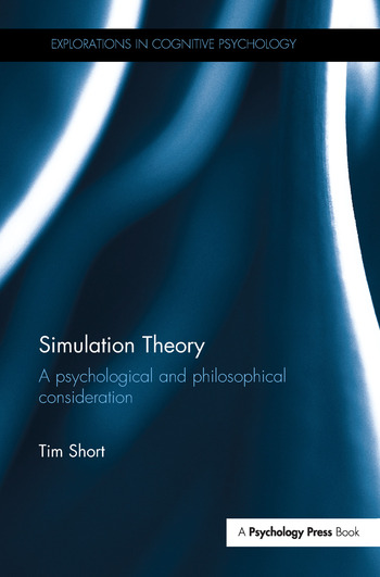 Simulation Theory A psychological and philosophical consideration book cover