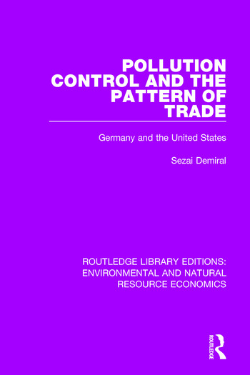Pollution Control and the Pattern of Trade Germany and the United States book cover