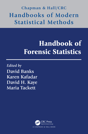 Handbook of Forensic Statistics book cover