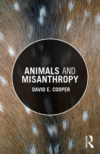 Animals and Misanthropy book cover