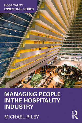 Managing People in the Hospitality Industry book cover