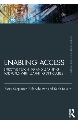 Enabling Access Effective Teaching and Learning for Pupils with Learning Difficulties book cover