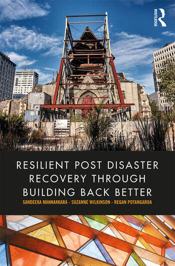 Resilient Post Disaster Recovery through Building Back Better book cover