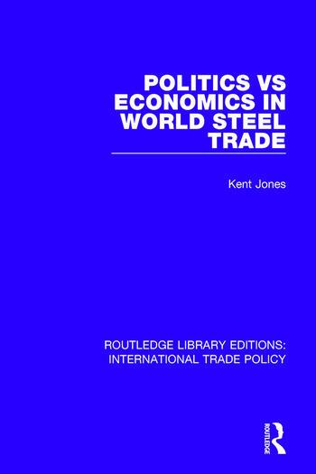 Politics vs Economics in World Steel Trade book cover