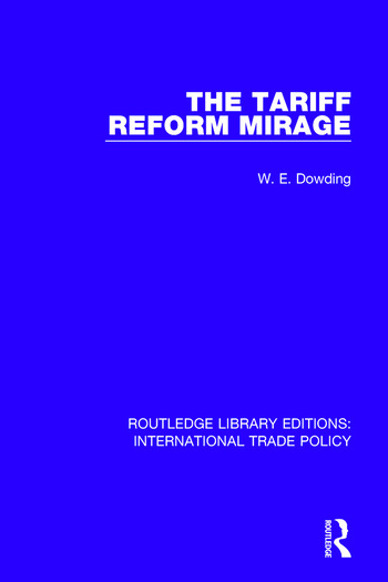 The Tariff Reform Mirage book cover