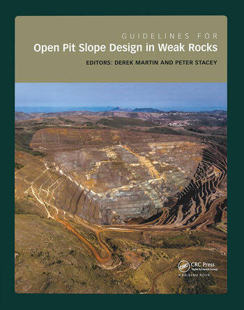 Guidelines for Open Pit Slope Design in Weak Rocks book cover