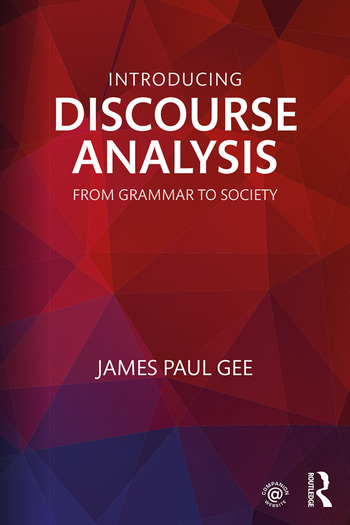 Introducing Discourse Analysis From Grammar to Society book cover