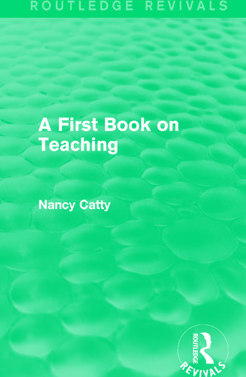 A First Book on Teaching (1929) book cover