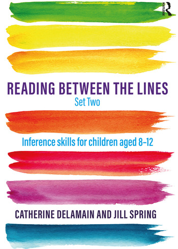 Reading Between the Lines Set Two Inference skills for children aged 8 – 12 book cover