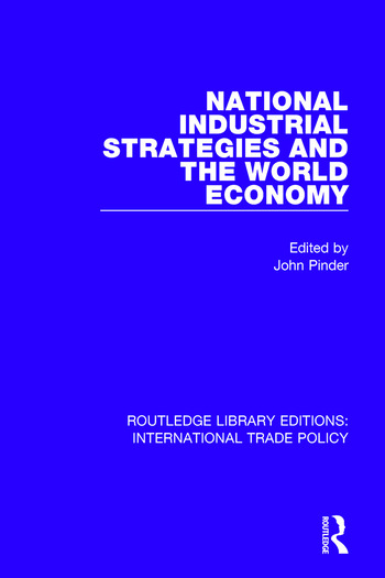 National Industrial Strategies and the World Economy book cover