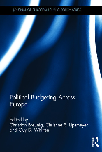 Political Budgeting Across Europe book cover