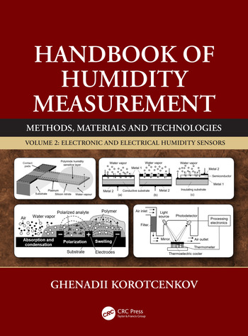 Handbook of Humidity Measurement, Volume 2 Electronic and Electrical Humidity Sensors book cover