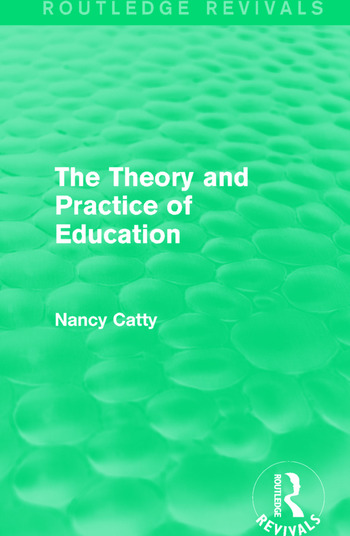 The Theory and Practice of Education (1934) book cover
