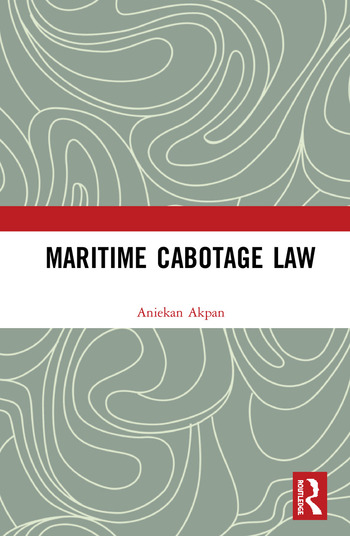Maritime Cabotage Law book cover