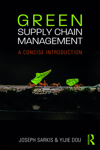 Green Supply Chain Management A Concise Introduction book cover