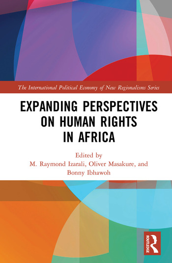 Expanding Perspectives on Human Rights in Africa book cover