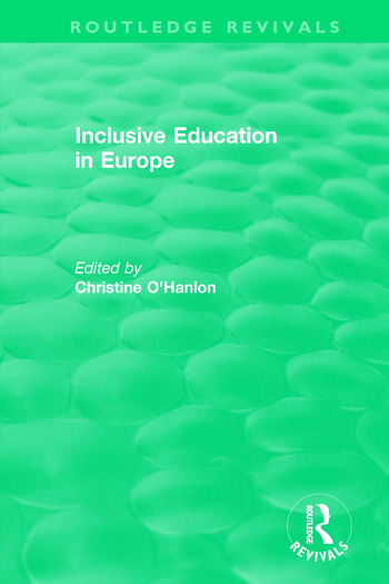 Inclusive Education in Europe book cover