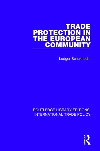 Trade Protection in the European Community book cover
