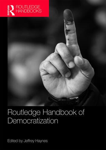 Routledge Handbook of Democratization book cover