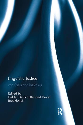 Linguistic Justice Van Parijs and his Critics book cover