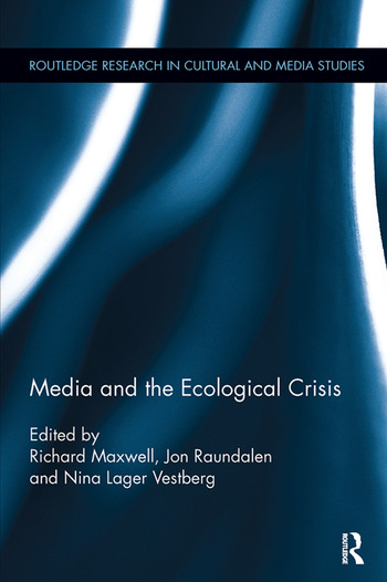 Media and the Ecological Crisis book cover