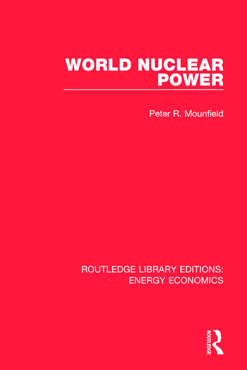 World Nuclear Power book cover