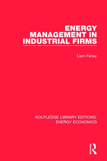 Energy Management in Industrial Firms book cover