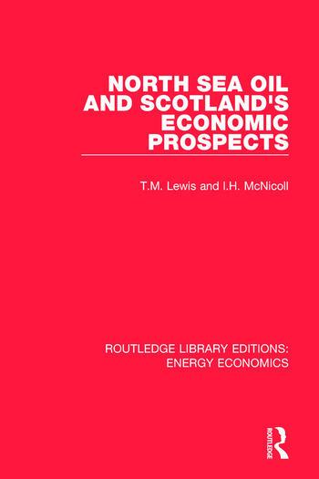 North Sea Oil and Scotland's Economic Prospects book cover