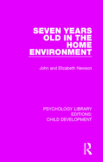 Seven Years Old in the Home Environment book cover