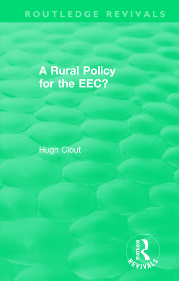 Routledge Revivals: A Rural Policy for the EEC (1984) book cover