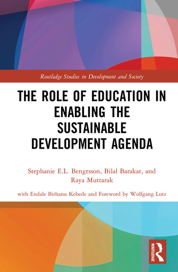 The Role of Education in Enabling the Sustainable Development Agenda book cover