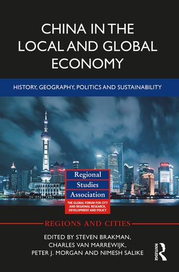 China in the Local and Global Economy History, Geography, Politics and Sustainability book cover