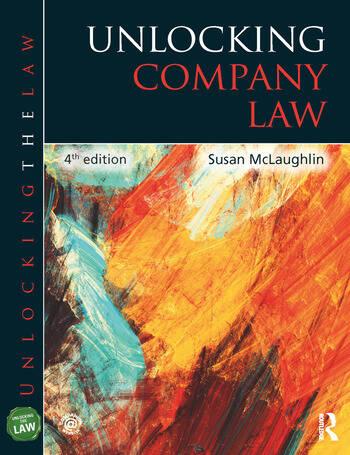 Unlocking Company Law book cover