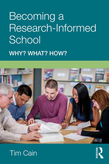 Becoming a Research-Informed School Why? What? How? book cover