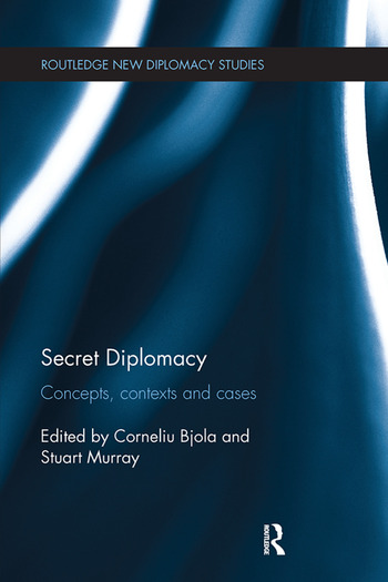 Secret Diplomacy Concepts, Contexts and Cases book cover