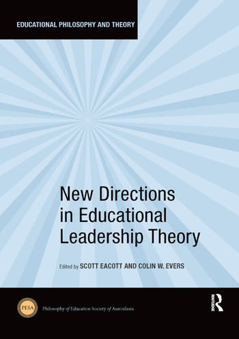 New Directions in Educational Leadership Theory book cover