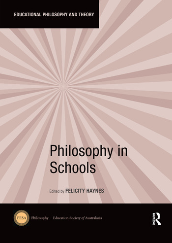 Philosophy in Schools book cover