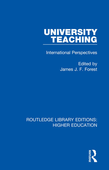 University Teaching International Perspectives book cover