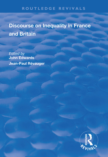 Discourse on Inequality in France and Britain book cover